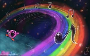 OILD: Rainbow Resort wallpaper by jazaaboo