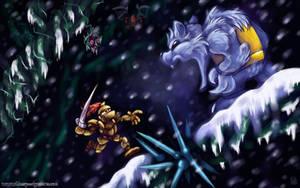 OILD: Ice Forest wallpaper by jazaaboo