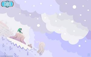 OILD: Winter season wallpaper by jazaaboo