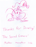 TSG Giveaway Art - Mr. Saturn