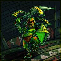 Summer of Zelda - Odolwa by jazaaboo