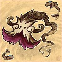 Summer of Zelda - Molgera by jazaaboo