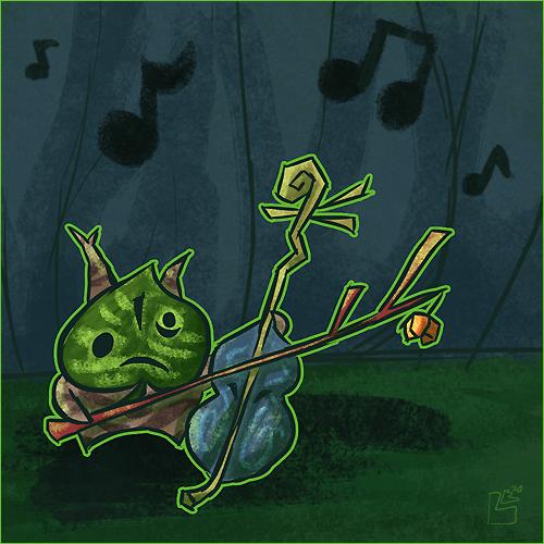 Summer of Zelda - Makar by jazaaboo