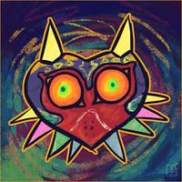 SoZ - Majora's Mask by jazaaboo