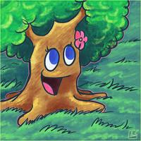 Summer of Zelda - Maku Tree by jazaaboo