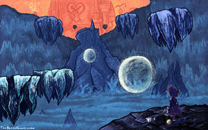 OILD: Hollow Bastion wallpaper by jazaaboo