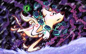 OILD: Kamui wallpaper by jazaaboo