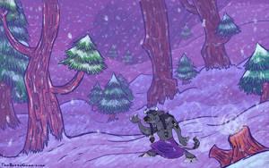 OILD: Winterspring wallpaper by jazaaboo