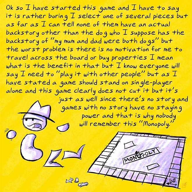 Zero Punctuation: Monopoly by jazaaboo