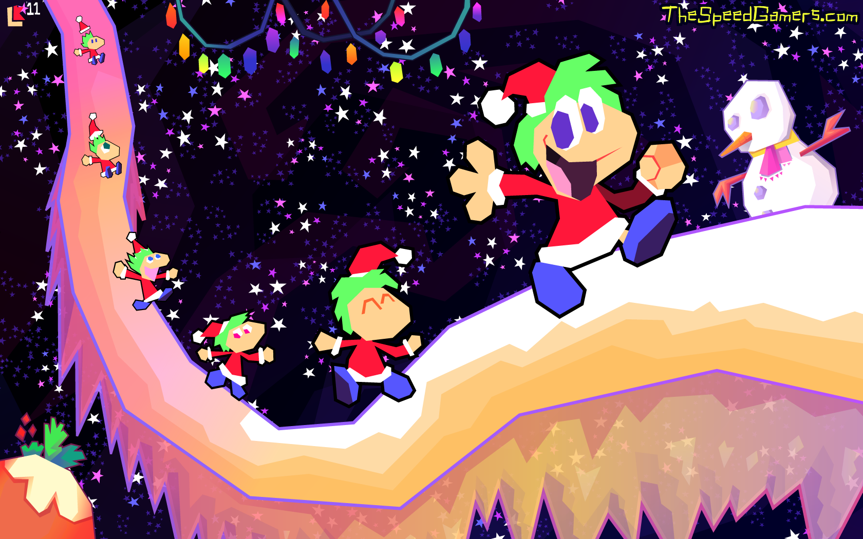 OILD: Holiday Lemmings by jazaaboo