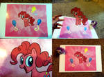 Pinkie Pie Animation Cel