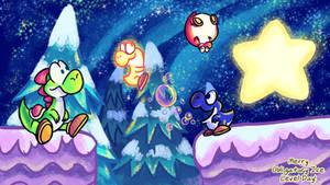OILD Bonus: Mario U Yoshi wallpaper