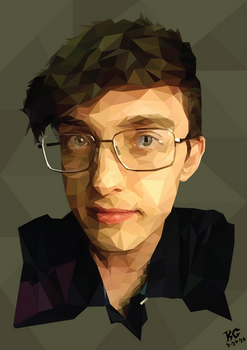 Low Poly Art: Self Portrait