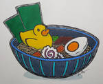 Rubber-Duck Ramen (with color!) - 035/365