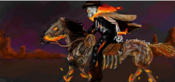 Ghost Rider: Carter Slade by beaversaurus on DeviantArt