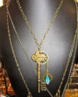 Steampunkery Key Necklace by Key-Kingdom