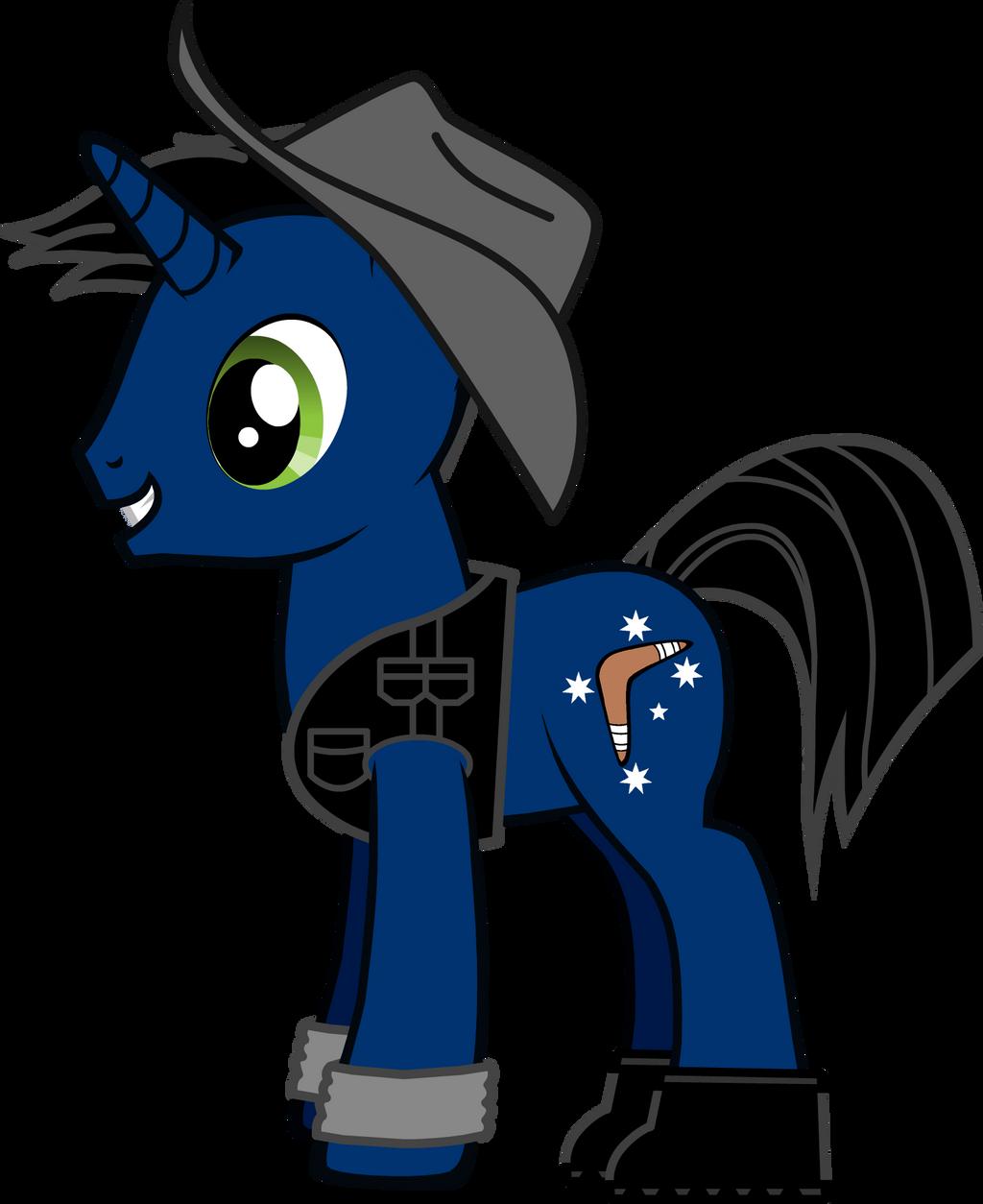 True Blue (My OC Pony)