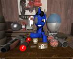 Meet the True Blue Demoman