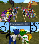 Ask True Blue tumblr 703 Wedding and 400 followers