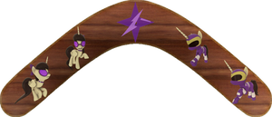 Princess Kiyomi Kazoo/Purple Ranger Boomerang