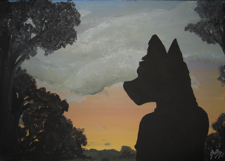 Contemplations -2007 by CanineHybrid