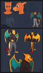 Anthro Charizard Costume 2007 by CanineHybrid