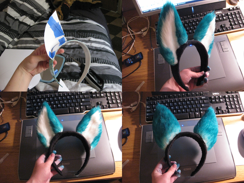 Michi Wolf Ears By Caninehybrid