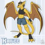 Kailee the Gargoyle by CanineHybrid