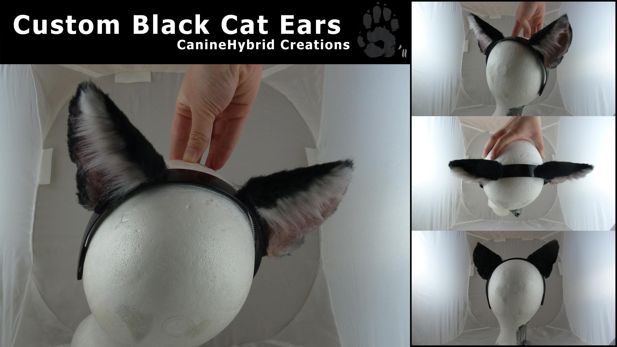 how to make yarn cat ears
