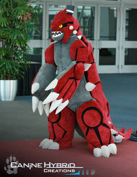 Groudon Costume by CanineHybrid