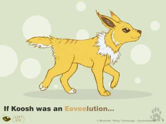 Eeveelutionary Jolteon by CanineHybrid