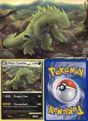 Riley's Tyranitar by CanineHybrid