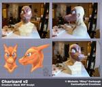 Charizard v2: WIP Mask Sculpt