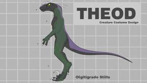 Theod Costume Design by CanineHybrid