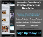 CanineHybrid's Creative Connection Newsletter by CanineHybrid