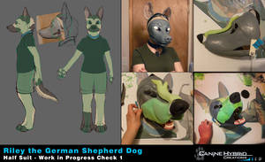 Riley the GSD [WIP1] by CanineHybrid