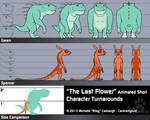 The Last Flower -Character Turnarounds by CanineHybrid