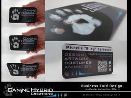 CHC Business Card Showcase by CanineHybrid