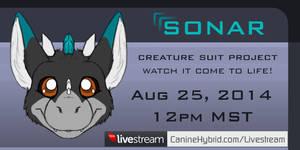 Livestream Announcement: Sonar by CanineHybrid