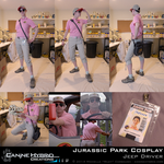[Cosplay] Jurassic Park: Jeep Driver