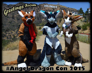 #Angel Dragon Con 2015 by CanineHybrid