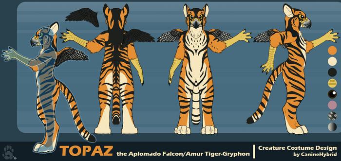 Topaz the Gryphon by CanineHybrid