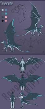 New Fursona Reveal: Tusaris the Dragon!