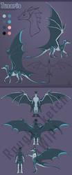 New Fursona Reveal: Tusaris the Dragon! by CanineHybrid