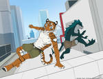 Parkour Kids! by CanineHybrid