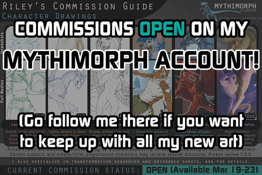 COMMISSIONS OPEN [March 19-23]