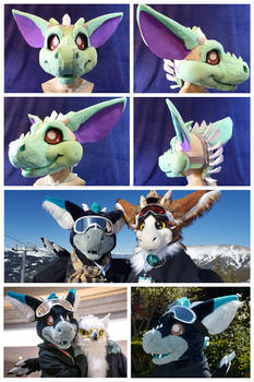 For Sale: Dutch Angel Dragon Fursuit