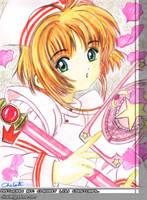 Card Captor Sakura - Sakura by riluciel