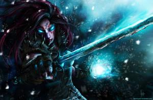 Frost Death Knight : Senryu by Kalkri