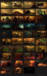 Storyboard: The Experiments
